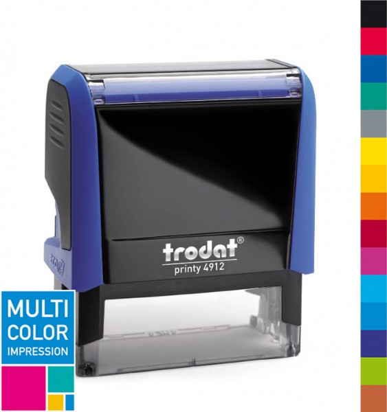 Trodat Printy 4912 Multicolorstempel (mehrfarbig)