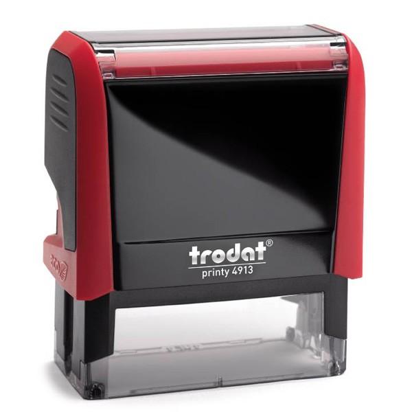 Trodat Printy 4913 mit Textplatte rot