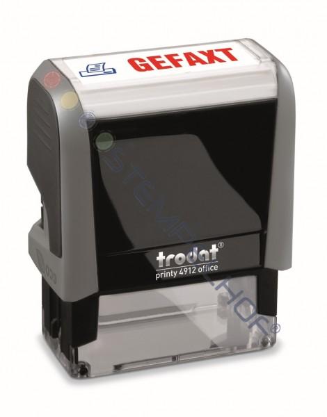 Trodat Office Printy 4912 - GEFAXT