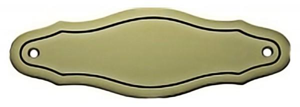 Türschild aus Messing poliert -Typ Z9-2