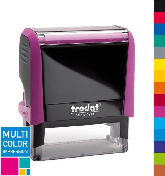 Trodat Printy 4913 Multicolorstempel (mehrfarbig)