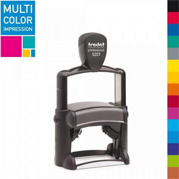 Trodat Professional 5207 Multicolorstempel (mehrfarbig)