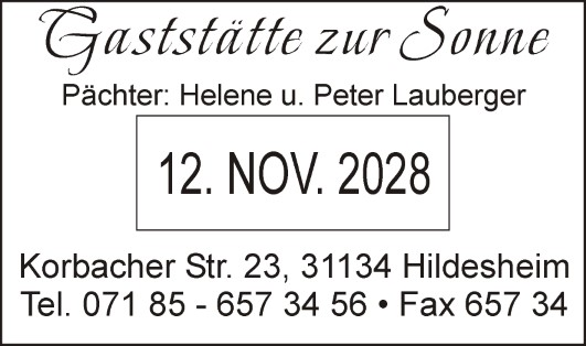 Colop-Printer-38-Datum-Text