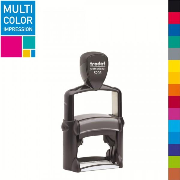 Trodat Professional 5203 Multicolorstempel (mehrfarbig)