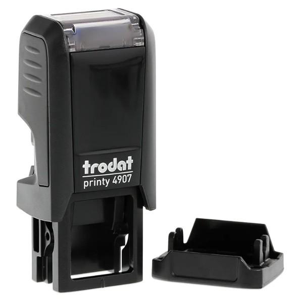 Der Trodat Printy 4907 mit Textplatte