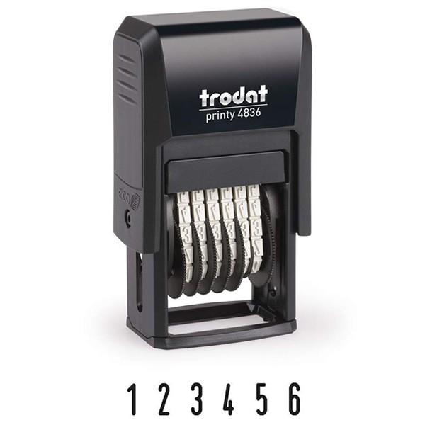 Trodat Printy 4836 Zifferndrehbandstempel