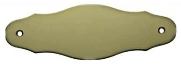 Türschild aus Messing poliert - Typ Z9-1