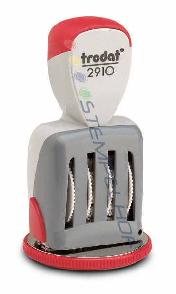 Trodat Classic 2910/U24/L Datumstempel mit Uhrzeitplatte