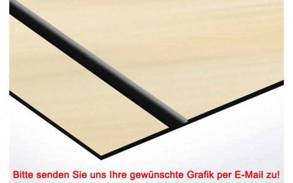 Flexibles Kunststoffschild Europ. Gold/Schwarz