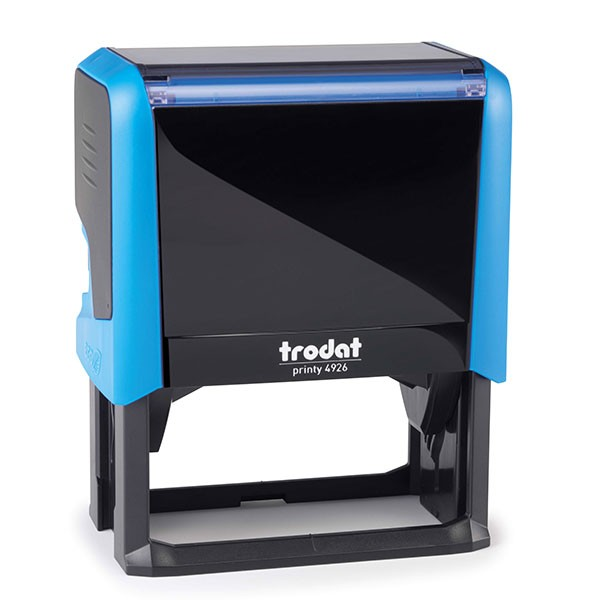 Trodat Printy 4926 mit Stempelplatte - blau