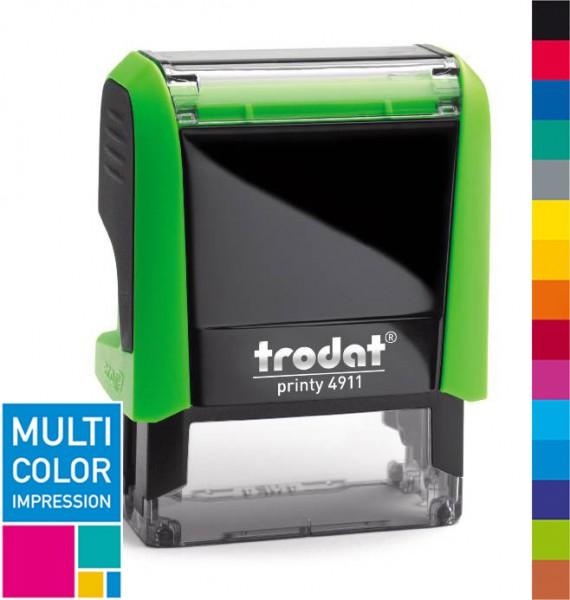 Trodat Printy 4911 Multicolorstempel (mehrfarbig)