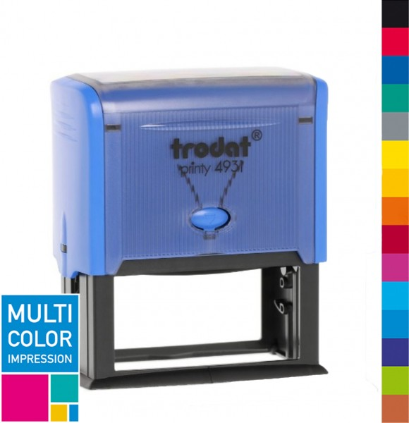 Trodat Printy 4931 Multicolorstempel (mehrfarbig)