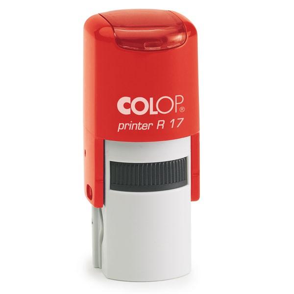 Colop Printer R17 mit Stempelplatte Ø17mm rot