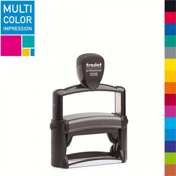 Trodat Professional 5205 Multicolorstempel (mehrfarbig)