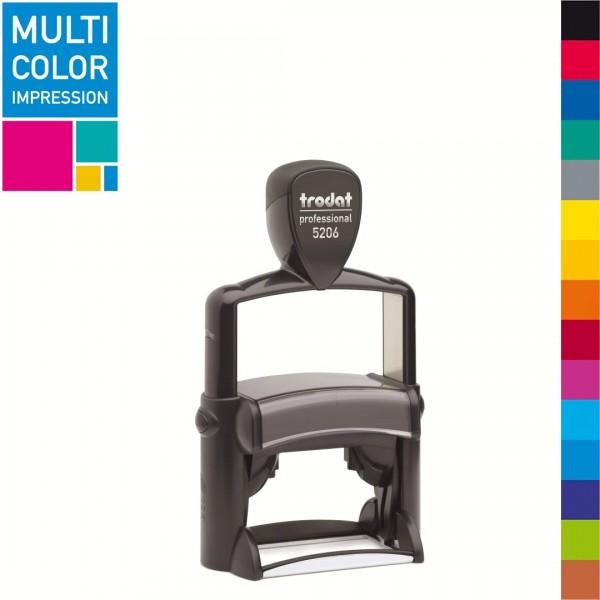 Trodat Professional 5206 Multicolorstempel (mehrfarbig)