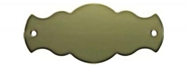 Türschild aus Messing poliert - Typ Z14