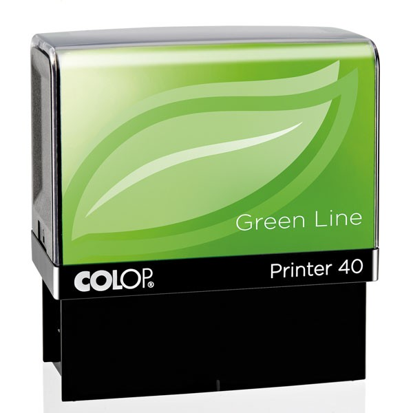 Colop Printer 40 Green Line mit Stempelplatte