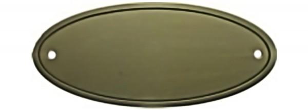 Türschild aus Messing poliert - Typ Z1-2