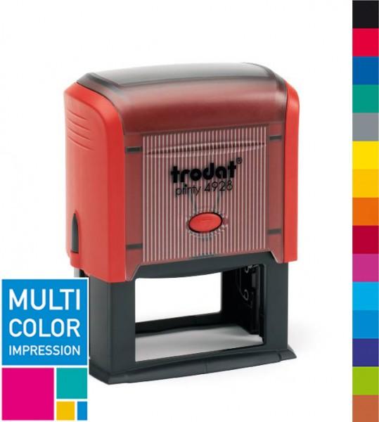 Trodat Printy 4928 Multicolorstempel (mehrfarbig)