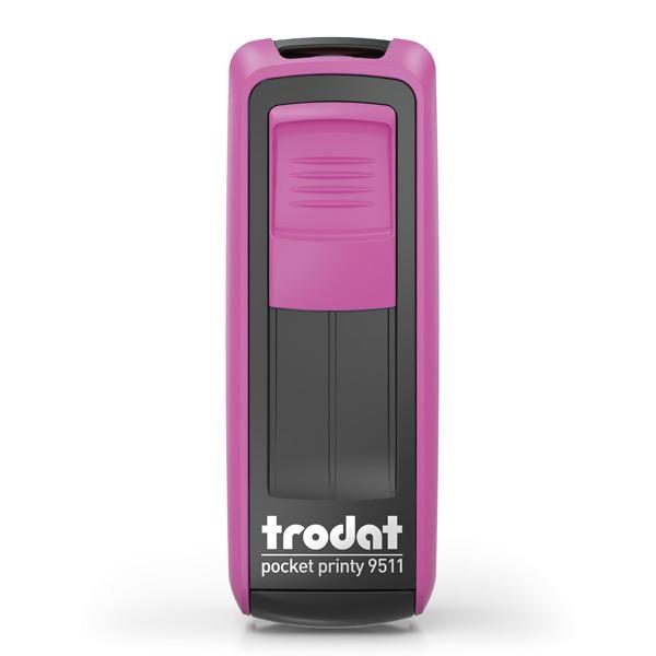 Trodat Pocket Printy 9511 mit Textplatte pink