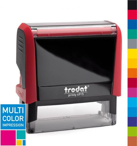 Trodat Printy 4915 Multicolorstempel (mehrfarbig)