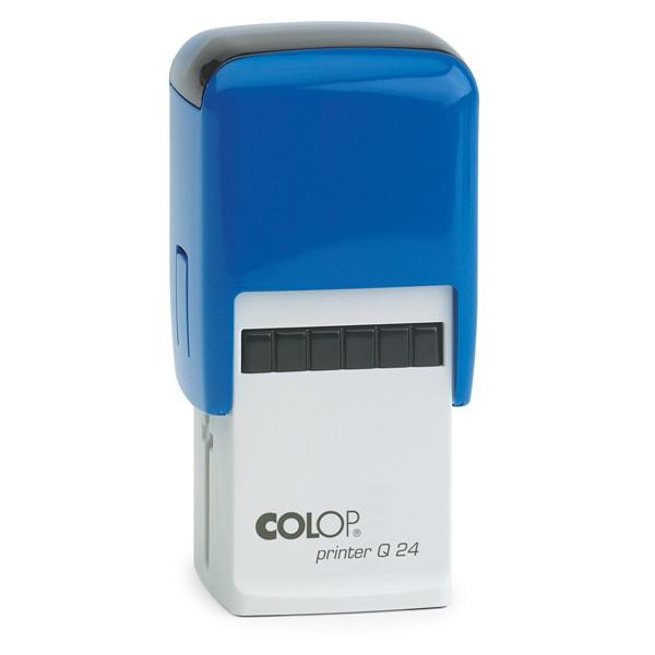 Colop Printer Q 24 mit Textplatte blau